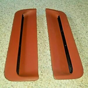 1967 1968 Ford Mustang Hood Scoop Grills Turn Signal Housing Left