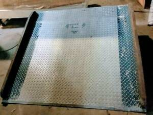 Used Loading Dock Plate Local Pick Up Only
