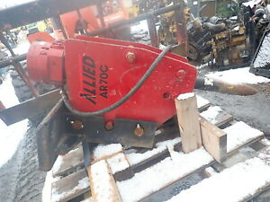 Allied Ar70c Jackhammer Attachment Hammer Ar70 Skidsteer Q a Bobcat Gehl