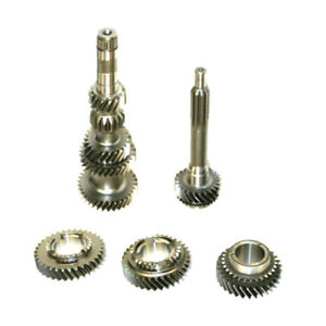 Mustang T5 Wc 2 95 Gear Set 5 Speed W Tapered Pocket Brg 9 1 4 Long Input