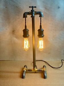 Industrial Pipe Lamp With Rotary On off Switch In The Spigot