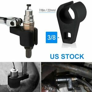 7 8 And 22mm Offset Oxygen O2 Sensor Socket Wrench Removal Tool Drive 3 8 Us
