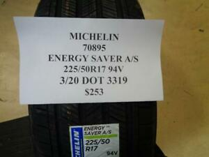 1 New Michelin Energy Saver A S Dt 225 50 17 94v Tire W Label 70895 Q0