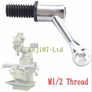 Milling Machine Part Table Lock Handle And Bolt Fit Bridgeport M1 2 Thread New