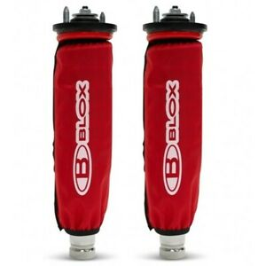 Blox Racing Coilover Covers Red Pair