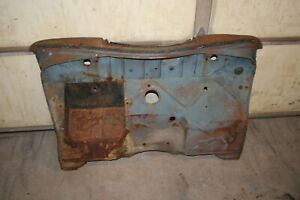 1937 1938 1939 Ford Standard Deluxe Firewall With Battery Box Oem
