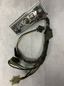 1981 87 Buick Regal Turbo Grand National T Type Power Seat Switch Harness