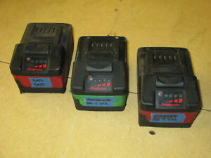Snap On 18v 2 Ctb7185 1 Ctb8185 G Batteries Bad