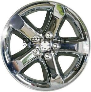 20 Dodge Ram 1500 Wheel Rim Factory Oem 2267 2006 2008 Machined Chrome Clad