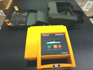 Medtronic Lifepak 500t Aed Training System W remote No Battery Good Condition