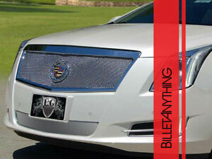 Classic Fine Mesh Upper Only Chrome Grille Fits 2013 2015 Cadillac Xts
