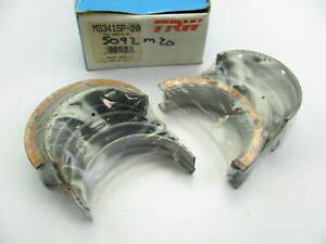 Trw Ms3415p 20 Engine Main Bearings 020 1977 1981 Pontiac 265 301