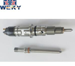 0445120193 New Common Rail Injector With Connector Tube 1set Cummins 6 7l