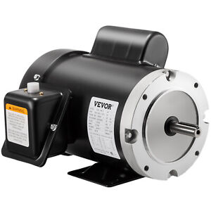 1 Hp Electric Motor 56c 1 Phase Tefc 1800rpm General Rated 1725rpm 13 6 6 8a