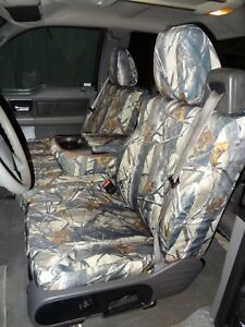 2004 2008 Ford Truck F150 Xlt Super Cab Front Exact Seat Covers In Camo Endura