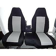 1998 2001 Ford Ranger Xlt Xcab Exact Seat Covers 60 40 Bench In Black gray