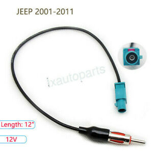 Car Antenna Adapter Plug Aftermarket Stereo Radio Installation For Jeep 2001 11