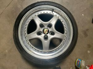 Porsche 911 964 993 Speedline Alessio 18 Wheel Rim Single Front 9x18