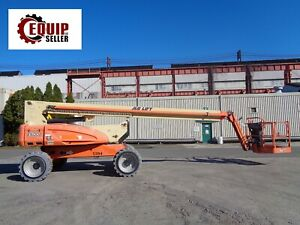 2011 Jlg E600j Boom Man Aerial Scissor Lift All Wheel Drive Electric 60ft Height