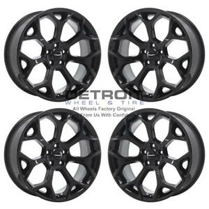 20 Chrysler 300 Gloss Black Exchange Wheels Rims Factory Oem 2539 2011 2019