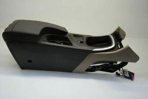 2011 Buick Regal Complete Console Front Floor Brown