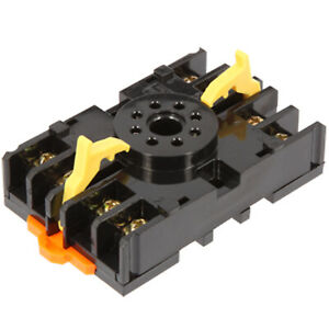 Anly P2cf 08 Timer Socket Front Connection Din Rail Mount for H3b h3c Series