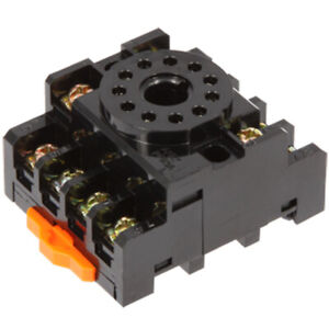 Anly Pf113a Timer Socket Front Connection Din Rail Mount for H3c r11