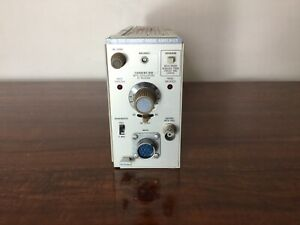 Tektronix Am 503 Current Probe Amplifier Plug In