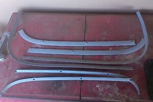 Corvair Interior Trim Parts Window 6 Pieces Used restored 1963 64 Coupe Others