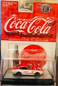 M2 Machines COCA~COLA 1970 Nissan Fairlady Z432