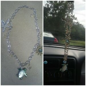 Car Rearview Mirror Pendant Hanging Charm Choice Of Three Styles