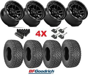 Xd Wheels Rims Tires Black 275 65 18 Bfgoodrich Ko2 Method Fuel