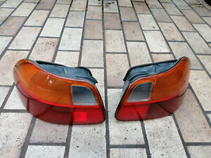 Set Jdm Tail Lights Rear Edm Oem Honda Crx Del Sol Eg1 Eg2 Eh6 92 98 rare