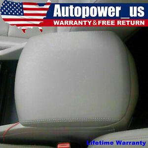 New Fits Honda Pilot 2009 2015 Leather Armrest Center Console Lid Cover Gray