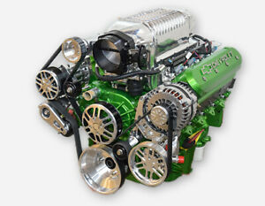 416 Ls3 Whipple Supercharged Turnkey Stroker Crate Engine All Aluminum 800 Hp