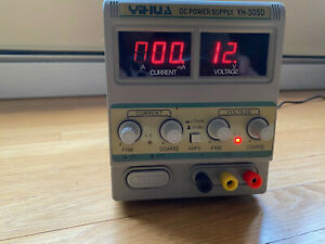 Yh 305d Adjustable Dc Power Supply Variable Regulated Precision For Lab 0 30v 5a