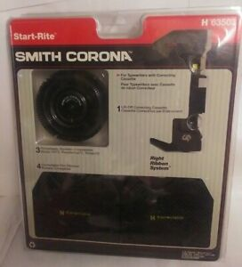 Start Rite Smith Corona Typewriter 3 Pinwheels Correctable Film Ribbons