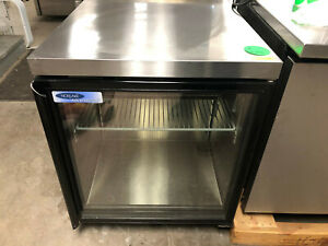 Norlake Urg27a Single Glass Door Undercounter Cooler