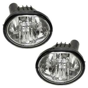 For 2003 2008 Toyota Matrix Pontiac Pair Fog Light 9006 Bulbs New