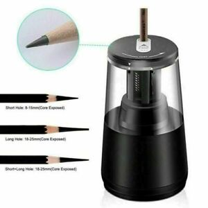Pencil Sharpener Desktop Bk Automatic Electric Heavy Duty Usb battery Operated