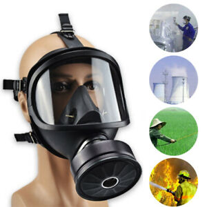 Mf14 Full Face Gas Radioactive Contamination Chemical Self priming Tool