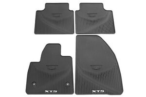 2017 2021 Cadillac Xt5 1st 2nd Row All weather Floor Mats Jet Black New Gm Oem