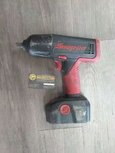 Snap on 18v 1 2 Cordless Impact Wrench Ct6850 With Battery No Charger Tested