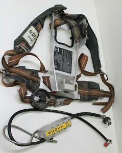 Used Scott 2 2 Air Pack Scba Harness 802276 01 Pressure Reducer