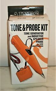 New Aines Atk1 6p Tone Generator Speaker Probe Kit For Wire Identification