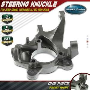 Steering Knuckle For Jeep Grand Cherokee Wj Wg 1999 2004 Front Right Passenger