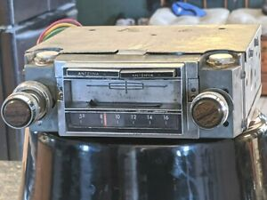 1966 1969 Ford Lincoln Am 8 Track Radio Oem Mustang Mercury Tested Working