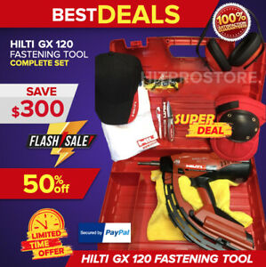 Hilti Gx 120 Fastening Tool Preowned Fast Shipping You Choose