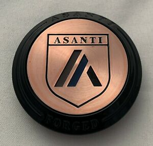 Asanti Floater Black With Bronze Wheel Center C 100