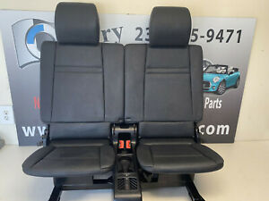 Bmw 3rd Row Seats Black Leather E70 X5 7 Seater 07 13 Oem